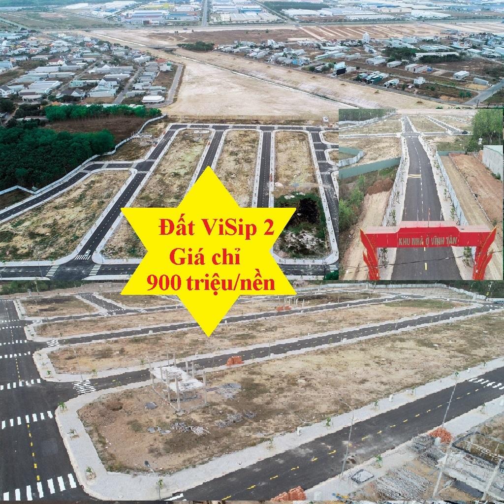 Đất ngay khu tái định cư VSip2A chỉ với 900 triệu sở hữu nền đất xây nhà ngay gần KCN VSip2A