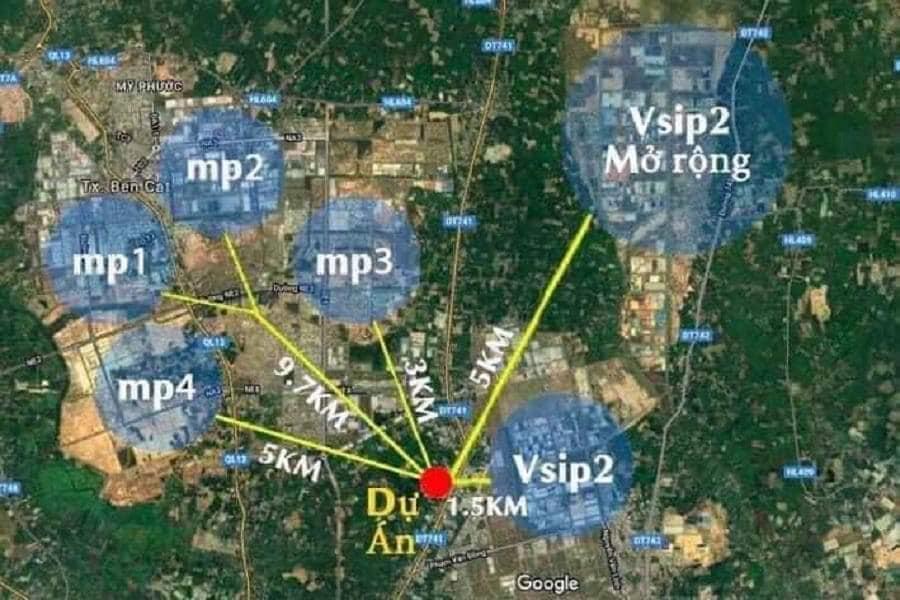 Mở bán dự án đất nền duy nhất hiện tại, liền kề TTTM Aeon TP Mới Bình Dương.