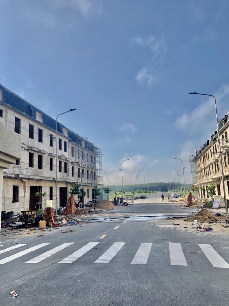 dự án ngay trung tâm thành phố mới mở rộng